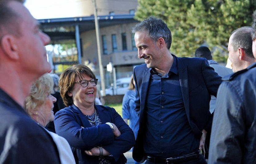 Elections européennes: Avec Jean-Luc Mélenchon, «on sait qu'on va dans le mur», déclare Martine Aubry