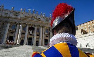 Un garde suisse au Vatican (illustration).