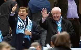 Très proche de Jean-Claude Gaudin, Jean-Pierre Foucault (ici en 2010) a longtemps été administrateur de l'OM.