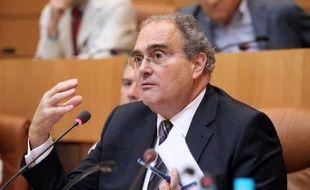 Le président de la Collectivité territoriale de Corse Paul Giacobbi à l'Assemblée de Corse, à Ajaccio, le 6 septembre 2013