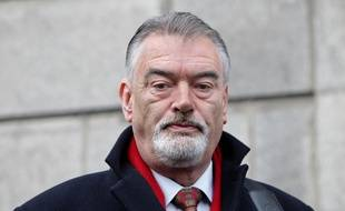 Dublin (Irlande), le 30 mars 2015. Ian Bailey est accusé du meurtre de Sophie Toscan du Plantier, commis en 1996.