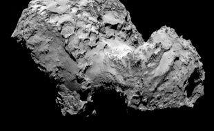La comète 67P/Churyumov-Gerasimenko le 6 août 2014.