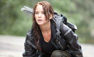 Photo extraite du film «Hunger Games», avec Jennifer Lawrence.