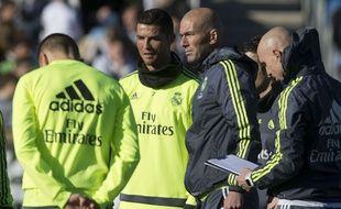 Entre Zidane et Ronaldo, c'est à qui encensera l'autre le plus souvent.