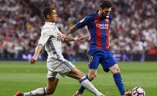 Cristiano Ronaldo face à Leo Messi, duel n°114423