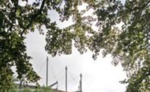 Le cimetière pour les supporters du HSV, à hambourg.