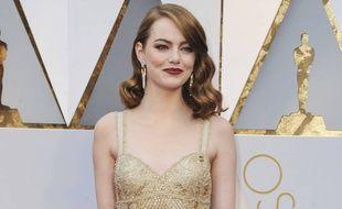 Emma Stone à la 89e cérémonie des Oscars le mois dernier