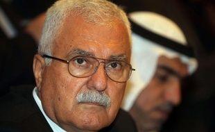 Georges Sabra, président du Conseil national syrien (CNS), principale composante de l'opposition syrienne, à Doha (Qatar), le 9 novembre 2012.