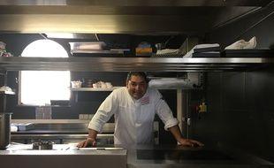 Le chef Alan Geaam