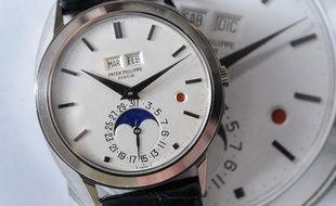 8a9ee7517df Une montre Patek Philippe mise en vente à Genève par Christie s le 11  novembre ...