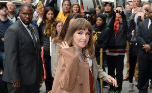 L'actrice et réalisatrice Lena Dunham dans les rues de New York