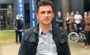 Eddy Le Beller, 52 ans, tête de liste Lutte ouvrière en Pays-de-la-Loire.