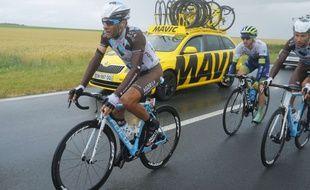 Jean-Christophe Péraud a lourdement chuté sur ce Tour de France.