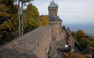 Le château du Haut-Koenigsbourg a accueilli 125.000 visiteurs sur les mois de juillet et août.