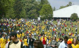 Les Scouts et Guides de France investissent Jambville pendant une semaine pour un incroyable rassemblement