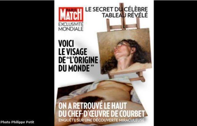 La Une de Paris Match de ce jeudi 7 février 2013.