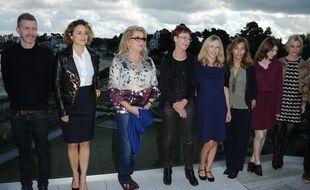 Le jury de l'édition 2014 autour de sa présidente, Catherine Deneuve.