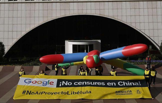 Des employés de Google en croisade contre le projet de moteur censuré en Chine