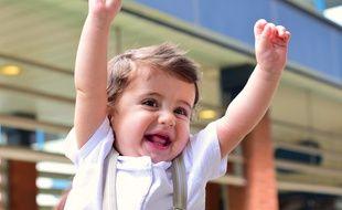 Le petit Alex, en bonne santé, après avoir subi une chirurgie cardiaque inédite au CHU de Toulouse.