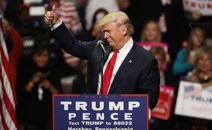 Le président américain élu Donald Trump