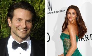 L'acteur Bradley Cooper et le mannequin Irina Shayk aiment bien faire quelques longueurs en piscine.