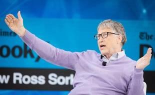 Bill Gates à New York, en novembre 2019.