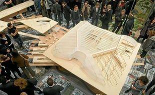 Cette année, le chantier des Halles se poursuit avec le début de la construction de la Canopée et des jardins.