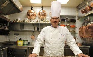 Lyon, le 20 septembre 2012. Paul BOCUSE dans son restaurant de Lyon. CYRIL VILLEMAIN/20 MINUTES