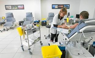 L'EFS-République accueille une trentaine de donneurs chaque jour.