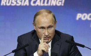 Le président russe Vladimir Poutine, le 13 octobre 2015 à Moscou