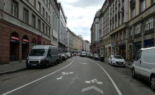 Evolution attendue, la rue du 22-Novembre sera bientôt à moitié sans voiture à Strasbourg.