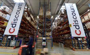 Un entrepôt Cdiscount en France.