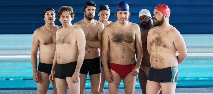 Les acteurs du film «Le grand bain».