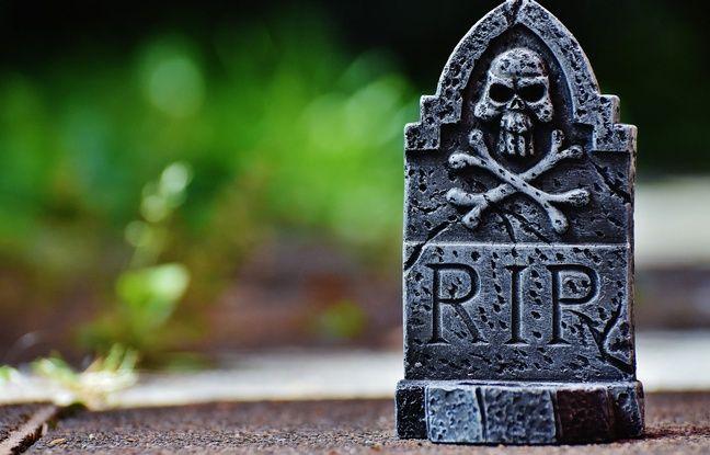 Illustration de cimetière.