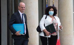 Jean-Michel Blanquer, le ministre de l'Education nationale, et Frédérique Vidal, la ministre de l'Enseignement supérieure.