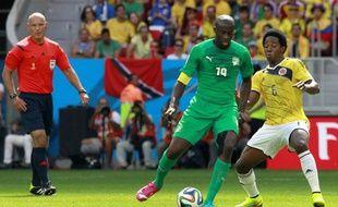 Yaya Touré lors du match Côte d'Ivoire-Colombie, le 19 juin 2014.