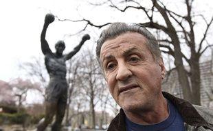 Sylvester Stallone, le 6 avril 2018 à Philadelphie.