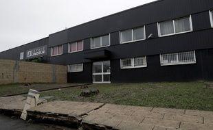 La zone industrielle où s'est déroulée la soirée privée du Nouvel An qui a dégénérée à Champigny après l'irruption d'une centaine de personnes. Lors de la dispersion de la foule, des incidents ont éclaté notamment l'agression de deux policiers.