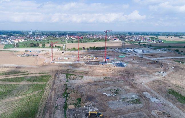 Europa-Park a posé la première pierre de son futur parc aquatique ce jeudi 14 septembre 2017.