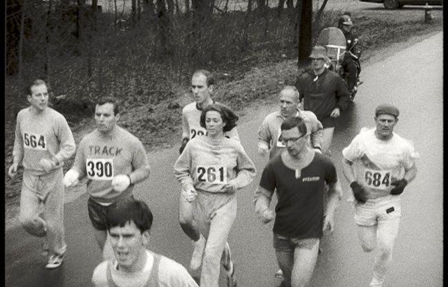 Kathrine Switzer est la première femme à avoir couru un marathon avec un dossard.