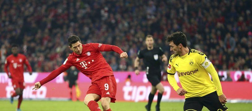 Lewandowski vs Hummels c'est un peu le match dans le match, n'est-ce pas Jean-Michel?