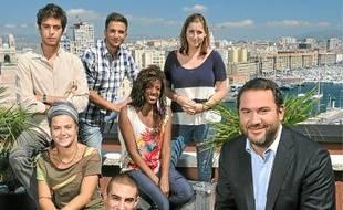 Bruce Toussaint et des jeunes en «road trip» à 20h35 sur France 2 .