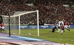 Mohamed Sala a qualifié l'Egypte pour le mondial.
