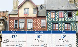 Météo Rennes: Prévisions du samedi 19 juin 2021