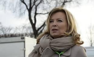 Valérie Trierweiler à Paris en décembre 2015