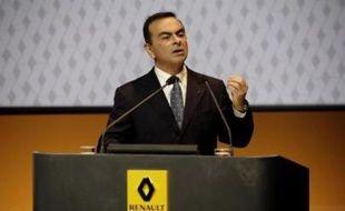Carlos Ghosn, président de Renault et de Nissan