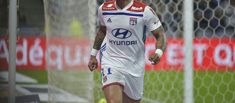 Dans le dur actuellement comme tout l'OL, Memphis Depay a ouvert le score vendredi face à Angers (2-1). ROMAIN LAFABREGUE