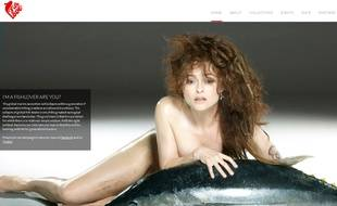 Capture d'écran du site Fish Love.