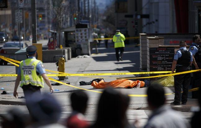 Canada: Une camionnette fonce sur des piétons à Toronto, 9 personnes tuées et 16 blessées