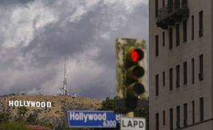 Hollywood dans la brume le 7 novembre 202